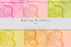 Being Mindful on Craftsuprint - View Now!