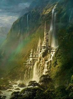 The Amazing Waterfall Castle – Poland. I really want to go here, I have family i… The Amazing Waterfall Castle – Poland. I really want to go here, I have family in Poland, so this would be amazing to see! Fantasy Places, Fantasy World, Waterfall Castle Poland, Beautiful Castles, Beautiful Places, Wonderful Places, Amazing Places, Places Around The World, Around The Worlds