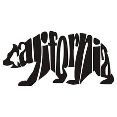 'Blue California Bear' T-Shirt by denip California Bear Tattoos, California Shirt, California Love, California Republic, Illustrated Words, Bear Logo, Cricut, Bear Art, Body Art Tattoos