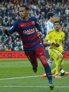 Neynar's goal Barcelona vs Real Sociedad 28/11/2015