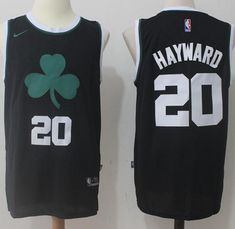 1cc66ba65 Nike Celtics  20 Gordon Hayward Black Fashion NBA Swingman Jersey