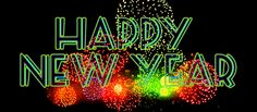 happy new year fireworks gif e card