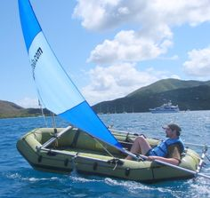 Intex Excursion 5 sail