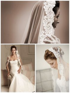 Bridal veil is a traditional accessory wedding that is beyond the fashion of the time. That is why wedding veil hairstyles are even more relevant, fashionable and beautiful. Although bridal veil ha… Wedding Dress With Veil, Wedding Veils, One Shoulder Wedding Dress, Wedding Dresses, Wedding Ceremony, Veil Hairstyles, Wedding Hairstyles With Veil, Wedding Beauty, Dream Wedding
