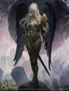 Gabriel01 by crow-god