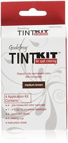 Godefroy 4 Applications Tint Kit Medium Brown * Learn more by visiting the image link.