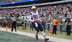 Scooped & Scored #Touchdown #Collins #NEvsNYJ