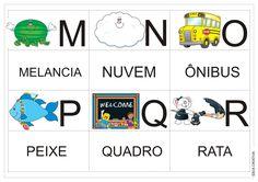 Alfabetos Ideia Criativa: Alfabeto pra Imprimir - Jogo da Memória