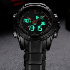 Top Men Watches Luxury Brand Men's Quartz Hour Analog Digital LED Sports Watch Men Army Military Wrist Watch Relogio Masculino Like it?  #shop #beauty #Woman's fashion #Products #Watch