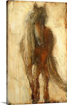 A large contemporary art piece of a horse that includes a lot of texture and warm tones. Mystical Beauty Wall Art by Erin Ashley would go perfect on any wall. See more abstract animal art at Great BIG Canvas. Sale Artwork, Beauty Art, Mystical Beauty, Fine Art, Painting, Painting Prints, Horse Wall Art, Fine Art Prints, Art Inspiration