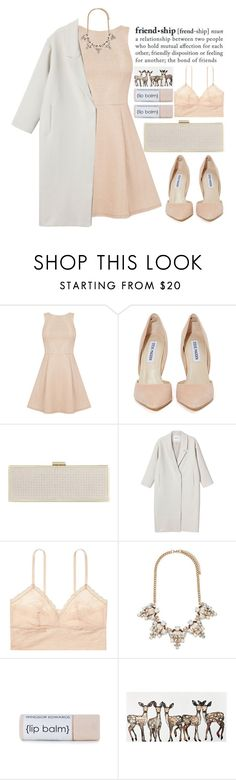 """""""Untitled #252"""" by monicanne ❤ liked on Polyvore featuring Steve Madden, Carvela, Monki, Body by Victoria, Forever 21 and frienddare"""