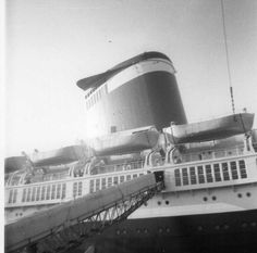 Vintage photos capture SS United States as a midcentury modern marvel - Curbed Philly