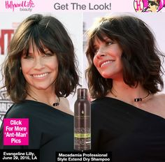 How To Style A Lob — Get Evangeline Lilly's Exact Look
