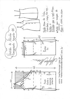 Tremendous Sewing Make Your Own Clothes Ideas. Prodigious Sewing Make Your Own Clothes Ideas. Sewing Clothes Women, Sewing Pants, Diy Clothes, Sewing Patterns For Kids, Dress Sewing Patterns, Clothing Patterns, Easy Sew Dress, Diy Dress, Fashion Sewing