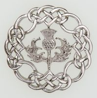 Scottish Sterling WARD BROTHERS Thistle Brooch. | My Scottish Heritage |  Pinterest