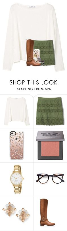 """""""GUYS IM GOING TO SEE NIALL HORAN ON MY BIRTHDAY"""" by madelinelurene ❤ liked on Polyvore featuring MANGO, Gap, Casetify, Urban Decay, Kate Spade, Ace, Suzanne Kalan and Tory Burch"""