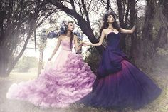 """""""And she would walk through to her secret garden, painting her sunshine amidst the mist... this whisper of her fairytale flies away with the wind.""""Photography: Gladys Ng Camera: SONY A99Model: Svetlana D, Kasia Z (Looque Models)Makeup: Michmakeover, …"""