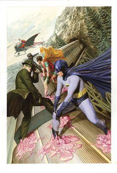BatmanGreenHornet02Ross