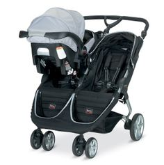 Britax B-AGILE twin stroller, coming soon. Gorgeous!