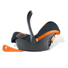 The Dozer Rocker is a portable car seat rocker and is compatible with most standard car seats.
