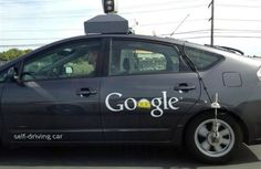#Love that the #Google Self Driving Car is a #Toyota #Prius!