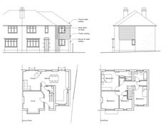 Wonderful Similar Ideas. Floorplan · Extension PlansRear ...