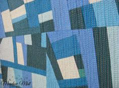 Meadow Mist Designs: Improv Quilt Two Finish - by Cheryl