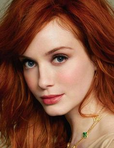 gorgeous red hair