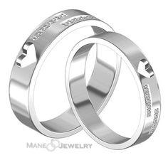 Cincin kawin model fruine merupakan desain terbaru cincin kawin kami berbahan…