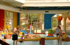 Children's pool at Yelloh! Village Le Sylvamar holiday park in France. Click for more www.childfriendlyescapes.co.uk