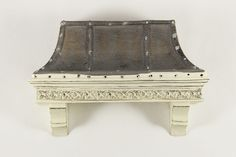 Like this hood better than the all steel one.  Country French Range Hood from Dollhouse Alley