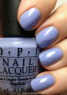"""OPI's """"You're Such a BudaPest"""" is perfect for a spring dress and a pair of wedges, recommends our nail tech, Carissa."""