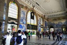 Estación de San Bento, una belleza!