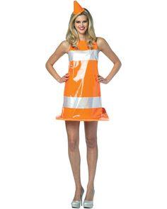 traffic cone dress