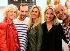 As atrizes Carolina Dieckmann, Paula Burlamaqui e Giovanna Ewbank irão estrelar com novas madeixas na próxima novela da Globo, Joia Rara.