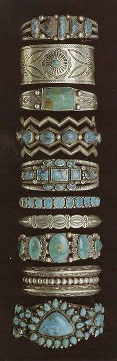 Vintage Turquoise Bracelets