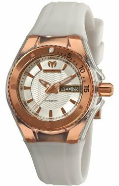 TechnoMarine Women's 110039 Cruise Original Star 3 Hands Silver Dial Watch TechnoMarine. $427.50. Clear transparent cover and white silicone strap. Comes with and extra white cover and brown silicone strap. 3 hands Quartz 36 mm pink gold PVD case and bezel. Silver dial. Water-resistant to 660 feet (200 M). Save 10%!
