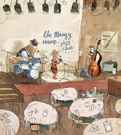 Inside illustration from Herman and Rosie (2012) by Gus Gordon  http://www.booksillustrated.com.au/bi_books_indiv.php?id=64&image_id=73