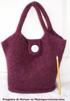 Cosa fare con un vecchio maglione? Si possono ottenere delle borse per tutte le stagioni, basta seguire questo semplice tuttorial per l'infeltrimento!