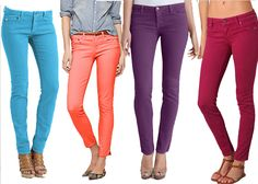 Colored Denim! #denim