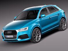 3D 2015 Audi Q3 - 3D Model