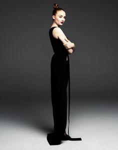 Sophie Turner for JustJared Spotlight Photographed by Justin Campbell