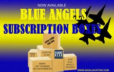 SUBSCRIPTION BOX - BLUE ANGELS You've seen the idea of SUBSCRIPTION BOXES in other places, now YOU can have your very own BLUE ANGELS arriving to YOU monthly! No two boxes alike! All boxes come filled with FIVE fun Blue Angels items! Ages 4 - 12 (or anyone who's a kid at heart and a big BLUE ANGELS fan)