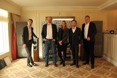 Our Burmester Team with the new CEO Andreas Henke at CES 2017.  #highend #highendaudio #audio #hifi #highendhifi #highendsound #audiophile #ilovehifi #lifestyle  #artfortheear #burmesterevent #luxus #luxury #ces #ces2017