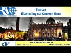 Stunning VISUA: Projection on the Vatican at COP21, Paris Climate Change Conference. At FIAT LUX: Illuminating Our Common Home