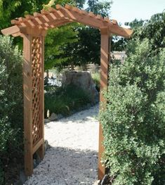 garden arbor more skeleton ideas