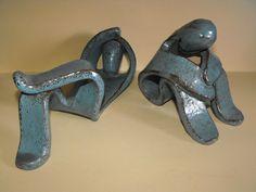 seltene Designer Figuren Keramik signiert Lu Pottery Ruhende Personen | Antiquitäten & Kunst, Porzellan & Keramik, Keramik | eBay!