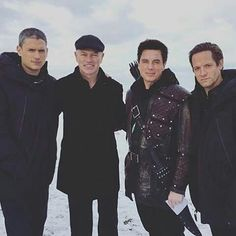 """25 Likes, 1 Comments - ⚡️The Universe of The Flash⚡️ (@universe_of_flash) on Instagram: """"The entire squad is here!!!! Leonard Smart, Damien Darhk, Malcolm Merlyn, & Eobard Thawne, The…"""""""