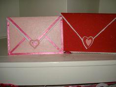 Valentine's Day Large Felt envelopes $8.00, via Etsy.