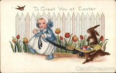 To Greet You at Easter With Children